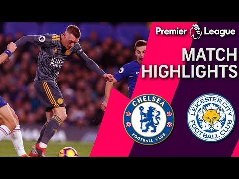 Video: Chelsea v. Leicester City | PREMIER LEAGUE MATCH HIGHLIGHTS | 12/22/18 | NBC Sports