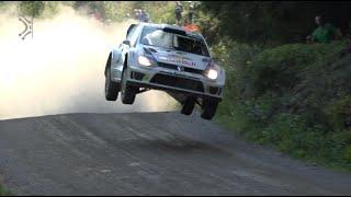 WRC Finland Rally 2014 |Jumps, Drifts&Close Calls | Pure Sounds [HD]