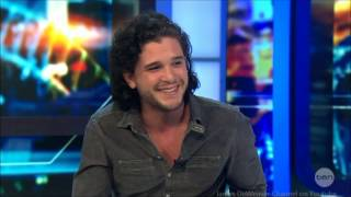 Harrington Australia  city photos gallery : Kit Harington - Pompeii & Game of Thrones Jon Snow LIVE Australian Tv Interview 5-3-2014