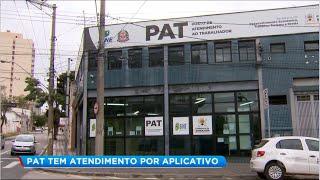 PAT de Sorocaba mantém atendimento pelo site ou aplicativo