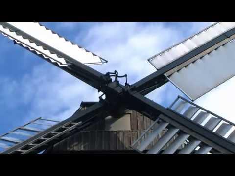 Windmühle Straupitz/Spreewald - die Kornmühle (Teil 1)