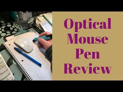 Review of 2.4GHz USB Wireless Optical Pen Mouse Smart Mouse for PC Laptop Computer
