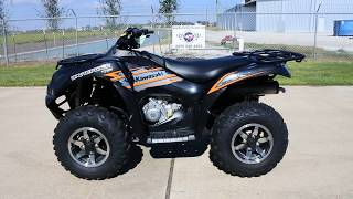 7. SALE $7,999:  2018 Kawasaki Brute Force 750 EPS in Super Black Overview and Review