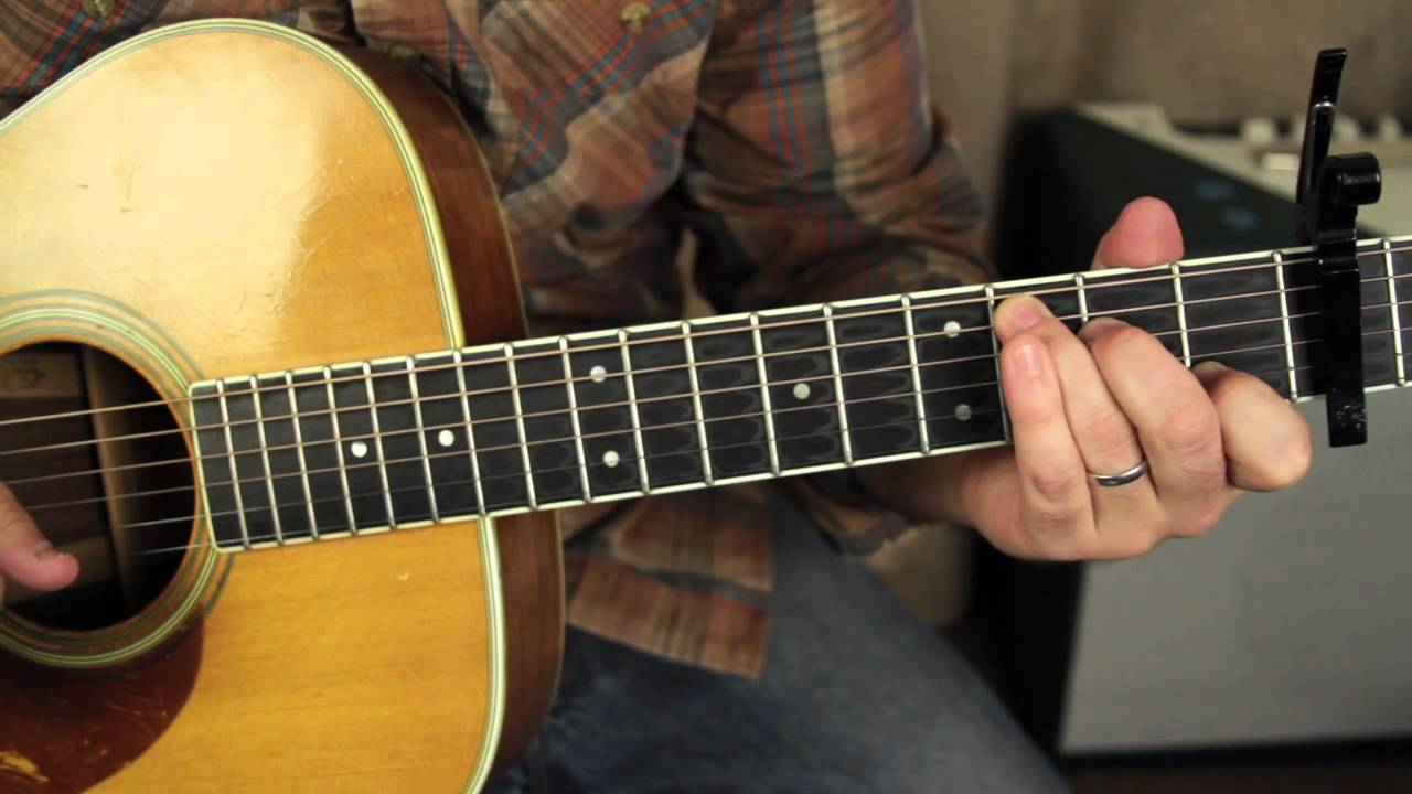 Fleetwood Mac – Landslide – Lesson  acoustic fingerpicking guitar lesson tutorial