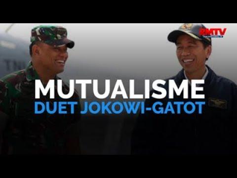 Mutualisme, Duet Jokowi-Gatot