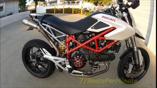 10. 2009 Ducati Hypermotard 1100 Review, Mods and Ride