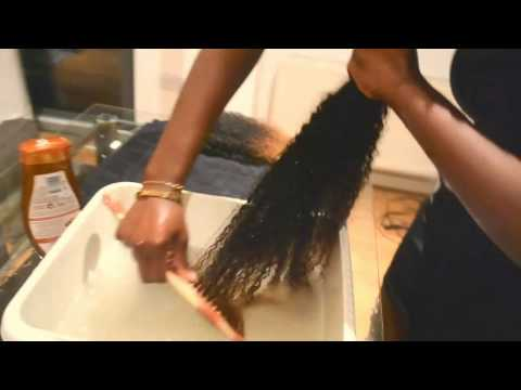 Best Way To Revive Dry & Tangled Mongolian Kinki Hair Curls