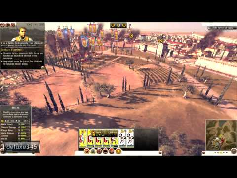 deluxe345 - Info The award-winning Total War series returns to Rome, setting a brand new quality benchmark for Strategy gaming. Become the world's first superpower a...