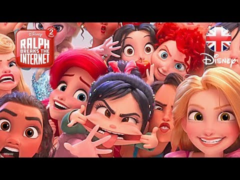 RALPH BREAKS THE INTERNET: Wreck-it Ralph 2 New Special Look | Official Disney UK