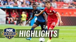Bayer 04 Leverkusen vs. SC Paderborn 07 | 2019 Bundesliga Highlights by FOX Soccer