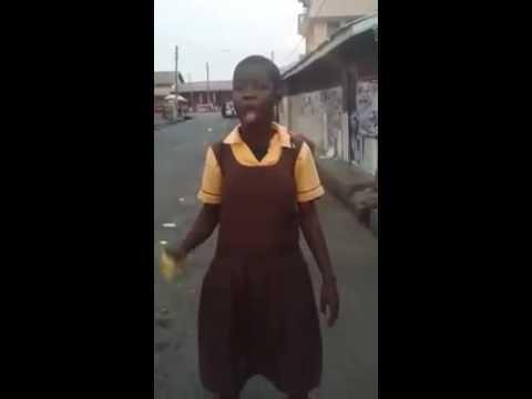 Funniest Video In Ghana ,little Girl Complains About Being Slept With For Money