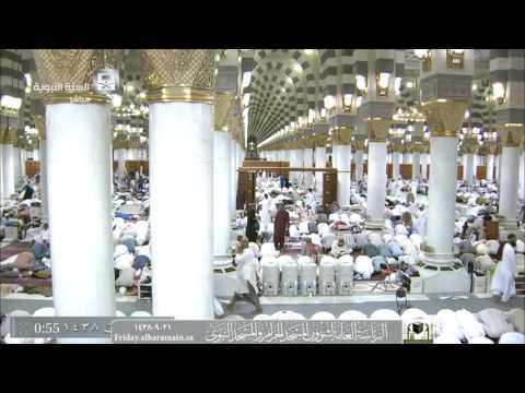 صلاة القيام المسجد النبوي 21-09-1438هـ