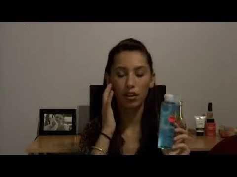 comment appliquer une lotion astringente