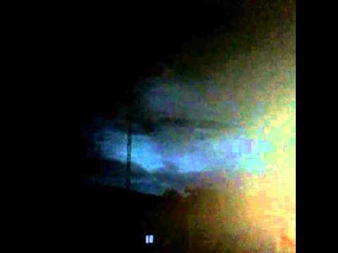 Céu muda de cor em Varzedo-Ba