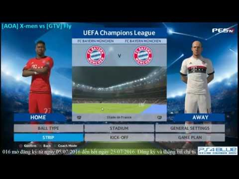 [PES 2016] GameTV vs All Out Attack | War Team | 10/7/2016