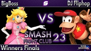 I feel like Peach is not represented quite enough in the current meta. This is a great Winner's Finals set of an up and coming Peach from Houston. Big Boss.