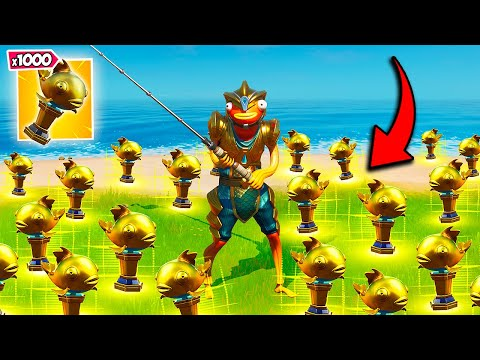 NEW *BROKEN* FISHING TRICK! - Fortnite Funny Fails and WTF Moments! #994