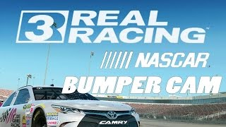 Real Racing 3  - NASCAR  (By Electronic Arts) -  Universal - HD Gameplay Trailer Bumper Cam, EA Games, video games