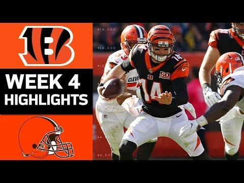 Video: Bengals vs. Browns | NFL Week 4 Game Highlights