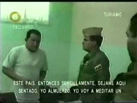 Chavez habla desde Turiamo el 12 de abril del 2002: