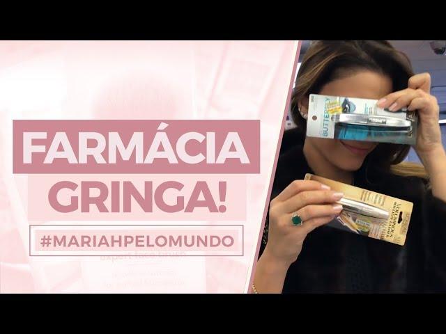 Rolê na farmácia gringa com dicas de produtos das irmãs! - Mariah Bernardes