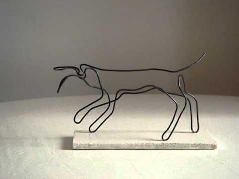 Pedro Mairal - Figuras en alambre 2