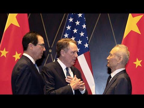 Εμπορική συμφωνία μεταξύ ΗΠΑ – Κίνας