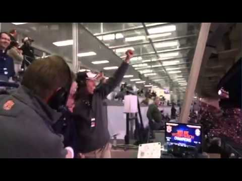 VIDEO: Auburn fans react to CRAZY Iron Bowl win