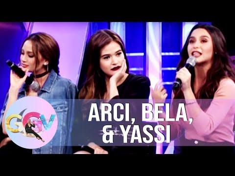 Arci, Bella, & Yassi's heartbreak stories | GGV