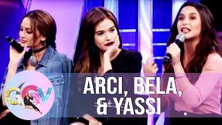 Video GGV: Arci, Bella, & Yassi's heartbreak stories MP3, 3GP, MP4, WEBM, AVI, FLV Mei 2018