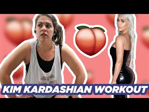 I Tried Kim Kardashian's Butt Workout