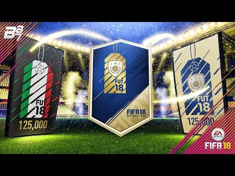 ICON IN A PACK! BLACK FRIDAY 125K PACKS! | FIFA 18 ULTIMATE TEAM