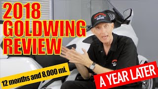 7. 2018 Honda Goldwing Long-Term Review
