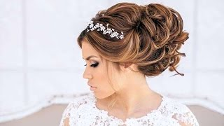 мода на свадебные прически