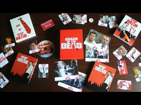 SHAUN OF THE DEAD Blu Box 2x Fullslip Edition Blu-Ray Everything Blu Edgar Wright /Simon Pegg Deluxe