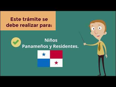 Permiso de salida para menores de edad - Panamá