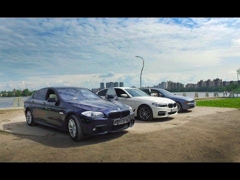 Вот раньше делали тачки ! Кузов BMW 5 G30 на фоне f10 и e39!