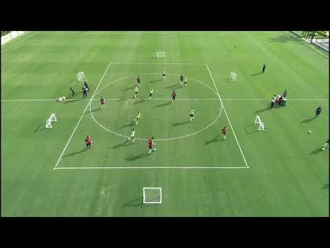 Treino na Academia de Futebol - SEP
