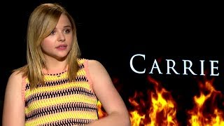 Chloe Grace Moretz Interview - Carrie (HD) JoBlo.com Exclusive