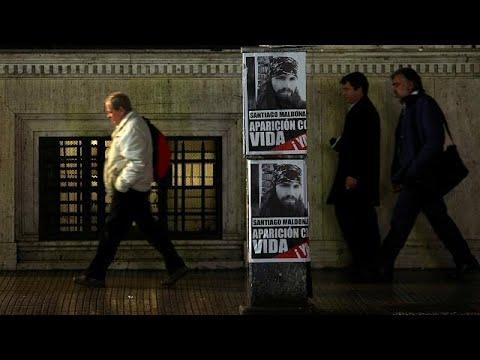 Αργεντινή: Μαζικές διαδηλώσεις για την εξαφάνιση ακτιβιστή