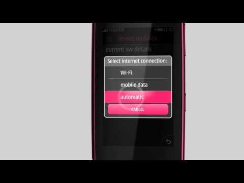 Asha Touch có firmware mới