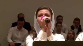 Conference 2014 Anna Kisel singing