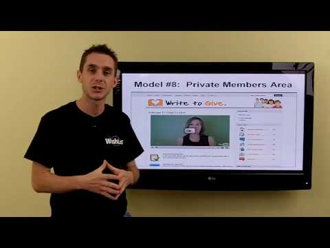 membership - Stu McLaren from WishList Member (http://www.WishListMember.com) describes the Top 10 Membership Models for people looking to create an online membership site.