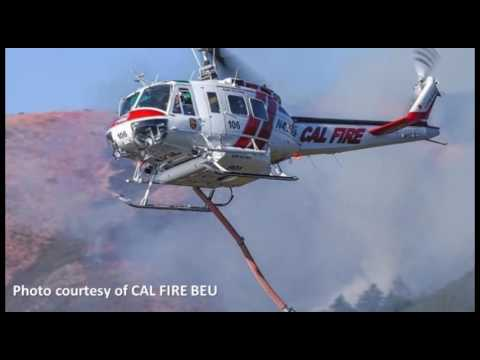 Local firefighter task force battles blaze in northern California