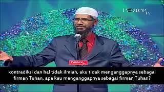 Video Dr Zakir Bedebat Dengan Pemuda Kristian Sehingga TERDIAM!!! Dr Zakir Naik Malay Subtitle MP3, 3GP, MP4, WEBM, AVI, FLV Oktober 2018