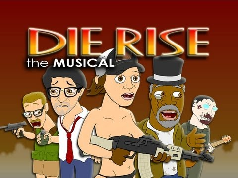 Musical - Download song on iTunes: https://itunes.apple.com/us/album/die-rise-the-musical-single/id639241700 SHIRTS: http://lhugueny.spreadshirt.com/it-s-your-lucky-da...