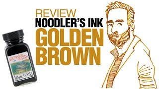 Find out how Noodler's Golden Brown ink writes and draws in this video. Reference photo:https://c1.staticflickr.com/5/4203/34995082065_067f231efa_k.jpgText review:http://www.parkablogs.com/content/review-noodlers-golden-brown-inkAmazon (affiliate) links:US: http://amzn.to/2t52bsICA: http://amzn.to/2t53qsqUK: http://amzn.to/2sABDypDE: http://amzn.to/2s5qVN0FR: http://amzn.to/2s1sVdZIT: http://amzn.to/2sAxbzGES: http://amzn.to/2s1f0EU Find me onYoutube: https://www.youtube.com/user/teohycParkaBlogs: http://www.parkablogs.comFacebook: https://www.facebook.com/parkablogsTwitter: https://twitter.com/ParkaBlogsFlickr: https://www.flickr.com/photos/parkablogsInstagram: https://instagram.com/parkablogsGumroad: http://gumroad.com/parkablogsPatreon: https://www.patreon.com/parkablogs