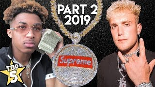 Top 5 | YouTuber Chains ( Part 2 ) | Jake Paul, DDG, Blazendary & more