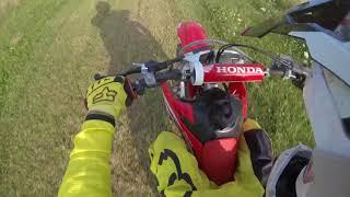 7. Honda CRF150R V.S CR250R