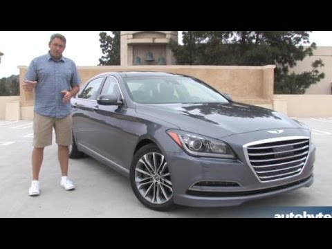2015 Hyundai Genesis 3.8 First Drive and Video Review